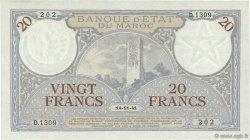 20 Francs 1920 modifié 1941 MAROC  1941 P.18b pr.NEUF