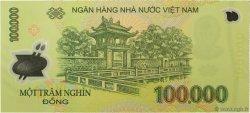 100000 Dong VIET NAM  2008 P.122e NEUF