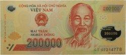 200000 Dong VIET NAM  2007 P.123b NEUF