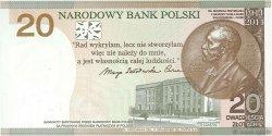20 Zlotych POLOGNE  2011 P.182 NEUF