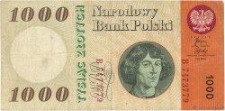 1000 Zlotych POLOGNE  1965 P.141a TB+