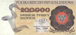 200000 Zlotych POLOGNE  1989 P.155a NEUF