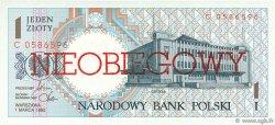 1 Zloty POLOGNE  1990 P.164a NEUF