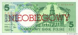 5 Zlotych POLOGNE  1990 P.166a NEUF