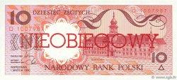 10 Zlotych POLOGNE  1990 P.167a NEUF