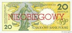 20 Zlotych POLOGNE  1990 P.168a NEUF