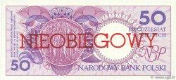 50 Zlotych POLOGNE  1990 P.169a NEUF