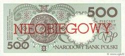 500 Zlotych POLOGNE  1990 P.172a NEUF