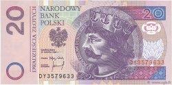 20 Zlotych POLOGNE  1994 P.174a SPL