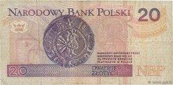 20 Zlotych POLOGNE  1994 P.174a TB