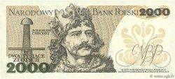 2000 Zlotych POLOGNE  1979 P.147b NEUF