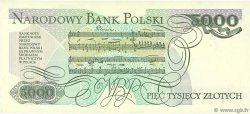 5000 Zlotych POLOGNE  1988 P.150c SPL