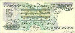 5000 Zlotych POLOGNE  1988 P.150c TTB+