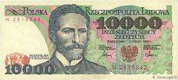 10000 Zlotych POLOGNE  1987 P.151a TTB+