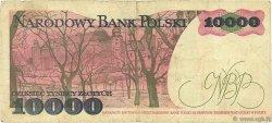 10000 Zlotych POLOGNE  1987 P.151a B+