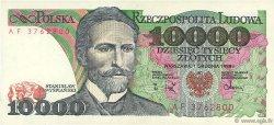 10000 Zlotych POLOGNE  1988 P.151b SPL