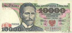 10000 Zlotych POLOGNE  1988 P.151b TTB