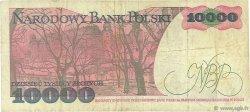 10000 Zlotych POLOGNE  1988 P.151b TB