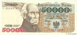 50000 Zlotych POLOGNE  1993 P.159a NEUF