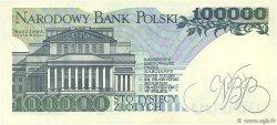 100000 Zlotych POLOGNE  1990 P.154a SPL