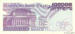 100000 Zlotych POLOGNE  1993 P.160a NEUF