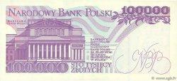 100000 Zlotych POLOGNE  1993 P.160a SUP
