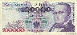 100000 Zlotych POLOGNE  1993 P.160a TTB