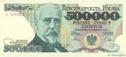 500000 Zlotych POLOGNE  1990 P.156a NEUF
