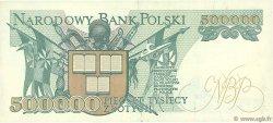 500000 Zlotych POLOGNE  1990 P.156a SPL