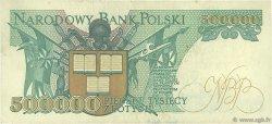 500000 Zlotych POLOGNE  1990 P.156a TTB