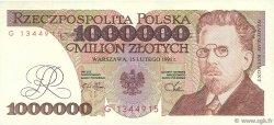 1000000 Zlotych POLOGNE  1991 P.157a SUP+