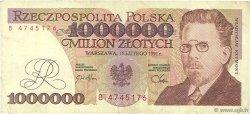 1000000 Zlotych POLOGNE  1991 P.157a TTB