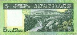 5 Emalangeni SWAZILAND  1974 P.03a SPL+