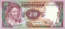 20 Emalangeni SWAZILAND  1974 P.05a SUP