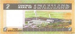2 Emalangeni SWAZILAND  1984 P.08b NEUF