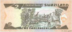 2 Emalangeni SWAZILAND  1992 P.18a NEUF