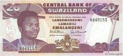 20 Emalangeni SWAZILAND  1992 P.21b NEUF