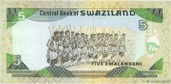 5 Emelangeni SWAZILAND  1995 P.23a