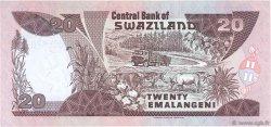 20 Emelangeni SWAZILAND  1997 P.25b NEUF