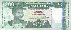 200 Emalangeni SWAZILAND  1998 P.28a NEUF