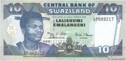 10 Emalangeni SWAZILAND  2001 P.29a NEUF