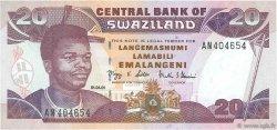 20 Emalangeni SWAZILAND  2001 P.30a NEUF