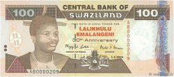100 Emalangeni SWAZILAND  2004 P.33 NEUF