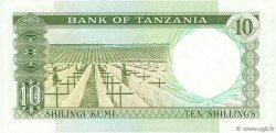 10 Shillings TANZANIE  1966 P.02d pr.NEUF