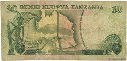 10 Shilingi TANZANIE  1978 P.06b B