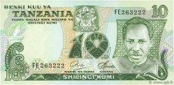 10 Shilingi TANZANIE  1978 P.06b NEUF