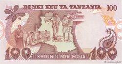 100 Shilingi TANZANIE  1977 P.08c SPL+