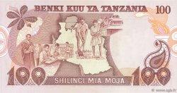 100 Shilingi TANZANIE  1977 P.08d NEUF