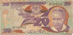 20 Shilingi TANZANIE  1985 P.09 B