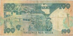 100 Shilingi TANZANIE  1985 P.11 TB
